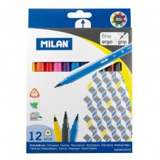 """Flomasteriai """"Milan 6112"""" 12sp"""