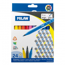 """Flomasteriai """"Milan 6112"""" 24sp"""
