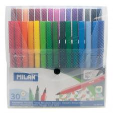 """Flomasteriai 30 spalvų """"Milan 610"""""""