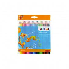 """Spalvinimo pieštukai 24 spalvų """"LakeLand"""""""