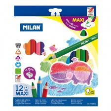 """Spalvinimo pieštukai 12 sp., """"261 Maxi""""drožtukas"""