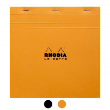 "Bloknotas ""Rhodia"" N.210, 21,0x21,0, langeliai"