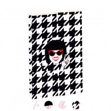 """Užrašų knygutė """"Chantal Thomass"""" 7,5x12, tušti lapai"""