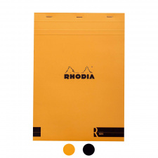 "Bloknotas ""Rhodia"" N.18, A4, eilutės, gelsvas popierius"