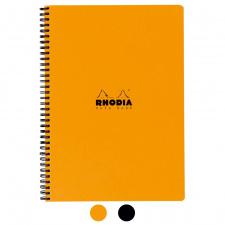 """Užrašų knygelė """"Rhodia"""" 22,5x29,7 cm, langeliai, spirale"""