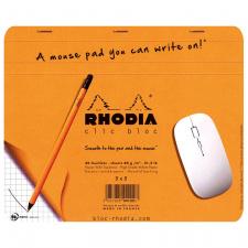 """Bloknotas-kilimėlis pelei """"Rhodia"""" 23x19, langeliai"""