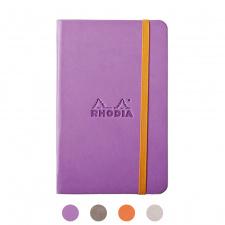 """Užrašų knygelė """"Rhodia"""" A6, tušti, kietu viršeliu"""
