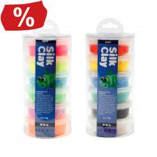 """Modelinas 6 spalvų 14 g """"Color Clay"""", šilkinis"""