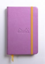 Užrašų knygelė RHODIA CARNET (A6 formato, be linijų, alyvinė)