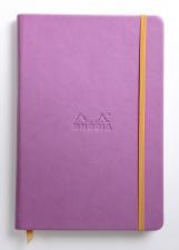 Užrašų knygelė RHODIA CARNET (A5 formato, be linijų, alyvinė)