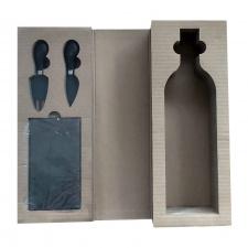 Vyno butelio dėžutė su įrankiais