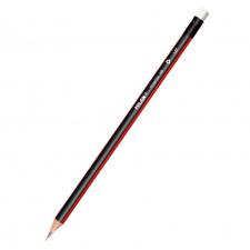 """Pieštukas """"Milan Graphite HB 137"""", su trintuku, tribriaunis"""