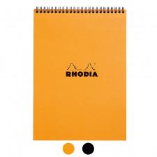 "Bloknotas ""Rhodia"" N.18, A4, langeliai, spirale"