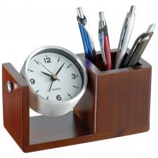 """Pieštukinė-laikrodis """"Macma Wood"""""""