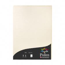 """Spalvotas popierius """"Pollen"""", 21x29,7cm, 210gsm, kreminė"""