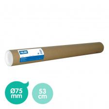 """Dėklas brėžiniams """"Milan-K"""" D75mm, 53cm, kartonas"""