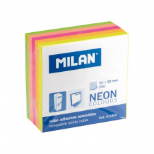 """Lipnūs lapeliai Milan """"Neon"""" 50x50, 5 spalvų, 250 l."""