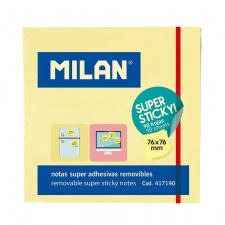 """Lipnūs lapeliai """"Milan"""" 76x76, gelsva, 90l"""