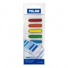 """Lipnūs žymikliai """"Milan"""" plastikiniai, strėlytės, 12x45 mm, 8 spalvų, 8x15 l."""