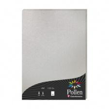 """Spalvotas popierius """"Pollen"""", 21x29,7cm, 210gsm, sidabrinė"""