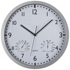 Sieninis laikrodis Ø34,8x4,5cm, baltas