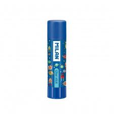 """Klijų pieštukas """"Milan Heroes"""" mėlynas, 21g"""