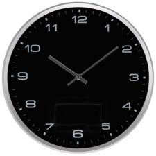 """Sieninis laikrodis """"CrisMa"""" ø33x4,5, juodas"""