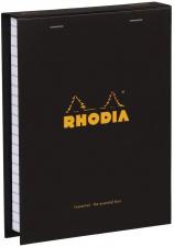 """Bloknotų rinkinys """"Rhodia Color"""", siūta, langeliai, 2 pieštukai, juoda"""