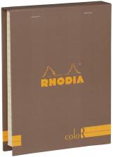 """Bloknotų rinkinys """"Rhodia Color"""", siūta, linijos, 2 pieštukai, ruda"""