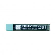"""Grafitai pieštukui """"Milan"""", 0.5-0.7mm , 12 vnt."""