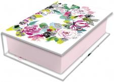 "Dėžutė papuošalams ""Blooming"" 9.5x6.5x3cm"