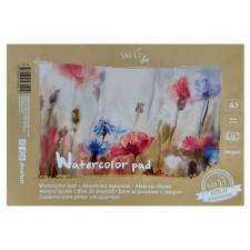 Akvarelės sąsiuvinis A3, 200 g, 20 l.