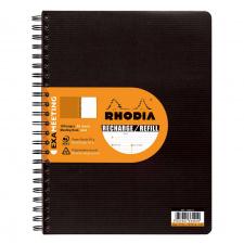 """Užrašų knygelė """"Rhodia"""" EXAmeeting 22,5x29,7 cm, 90 g, 80 l."""