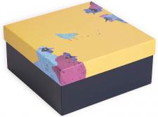 """Dovanų dėžutė 25x25x12,5 cm, (L)""""Les Coquettes"""""""