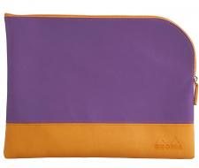 "Krepšelis ""Rhodia"" 21x28, violetinis, didelis"