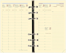 "Įdėklas-kalendorius ""Timer 17 Prestige"""