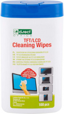 Servetėlės ekranui TFT/LCD valyti, 100 vnt.