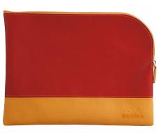 """Kosmetinė """"Rhodia"""", 11x17, raudona, maža"""
