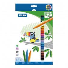 """Flomasteriai """"Maxi 631"""" 18 spalvų"""