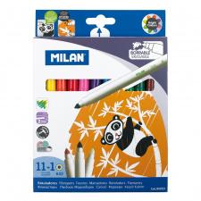 """Flomasteriai """"Milan 632"""" su trinikliu, 11sp"""
