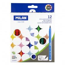 """Flomasteriai """"Milan 610"""" 12sp"""