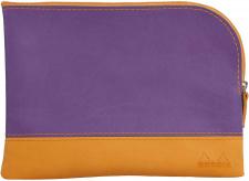 "Krepšelis ""Rhodia"" 16x22, violetinis, vidutinis"