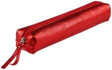 """Odinė kosmetinė """"Cuirise"""" 20x5 cm, ovalios formos, raudona"""