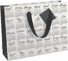 """Dovanų krepšelis L37x27 """"Eurowrap"""" metų kalendorius."""