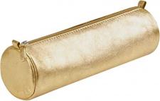 """Odinė kosmetinė """"Cuirise"""" Ø5,5x22 cm, ovali, auksinė"""