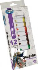 """Guašas 12 spalvų, 12 ml """"Tubes"""", tūbelėse"""