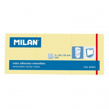 "Lipnūs lapeliai ""Milan"" 3x38x50, gelsvi, 100l"
