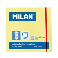 """Lipnūs lapeliai """"Milan"""" 76x76, gelsvi, 100l"""