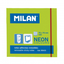 "Lipnūs lapeliai ""Milan""76x76, žali, 100l, neon"