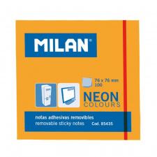 """Lipnūs lapeliai """"Milan""""76x76, oranžiniai, 100l, neon"""